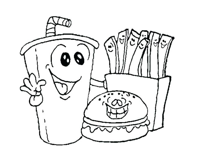 640x501 Food Web Coloring Pages Food Coloring Book And Food Coloring Page