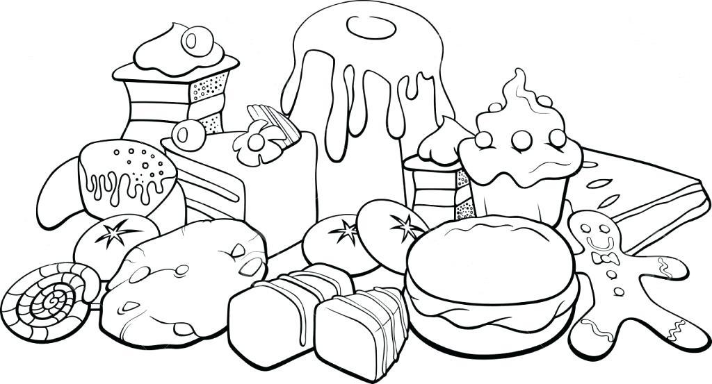 1024x553 Food Coloring Pages Coloring Pages Food Food Coloring Book