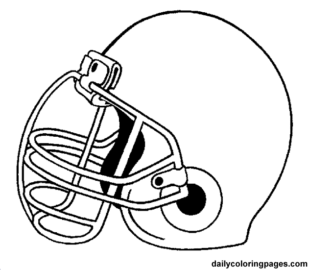 631x551 Football Coloring Pages Color Bros