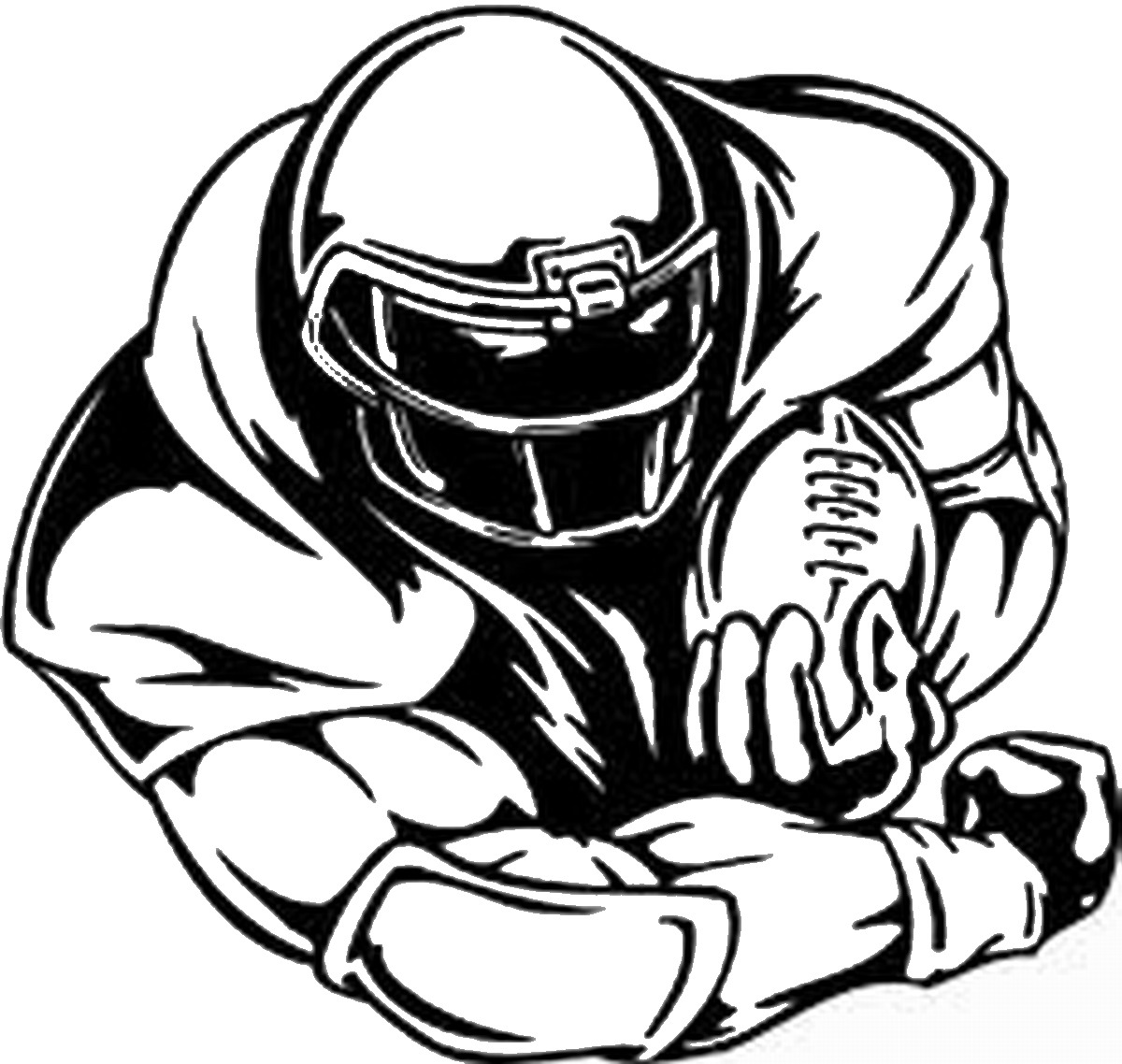 1200x1138 Football Coloring Pages