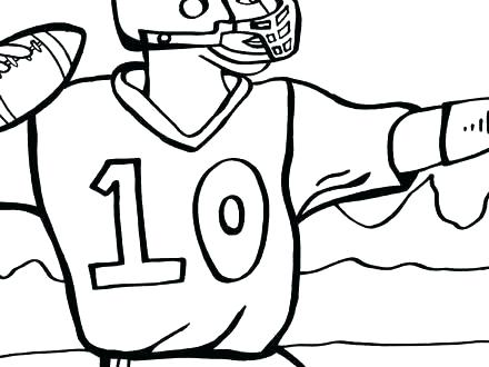440x330 Free Football Coloring Pages Football Color Page Printable