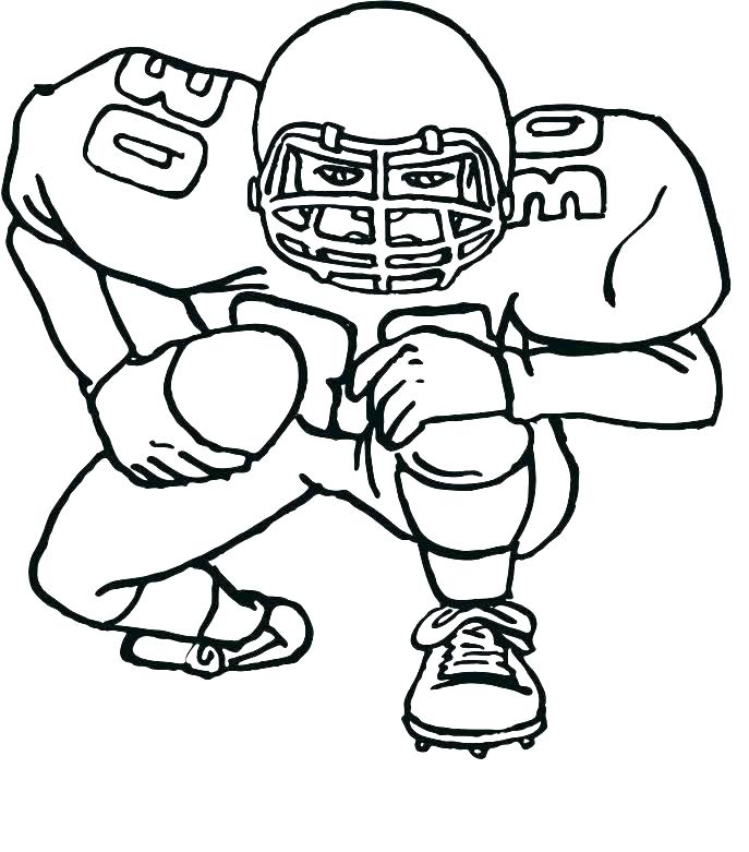 687x781 Football Coloring Pages Nfl Coloring Pages Football Coloring Page