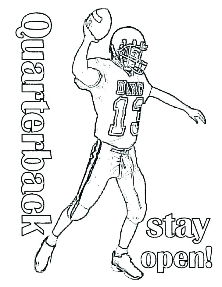 728x941 Football Field Coloring Pages Football Printable Coloring Pages