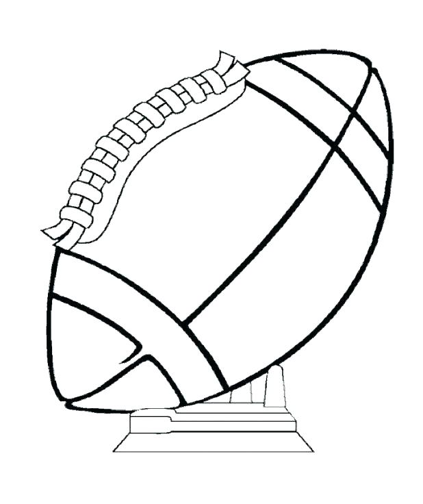 618x736 Free Football Coloring Pages Printable Football Coloring Pages