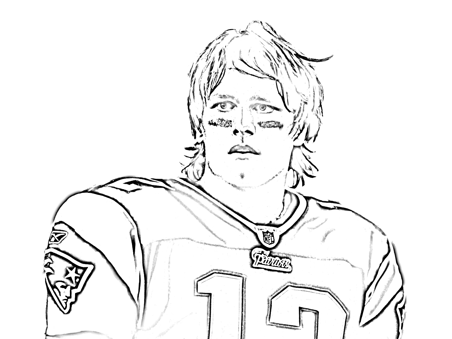 1500x1125 New England Patriots Coloring Pages With Logo Sheets Free
