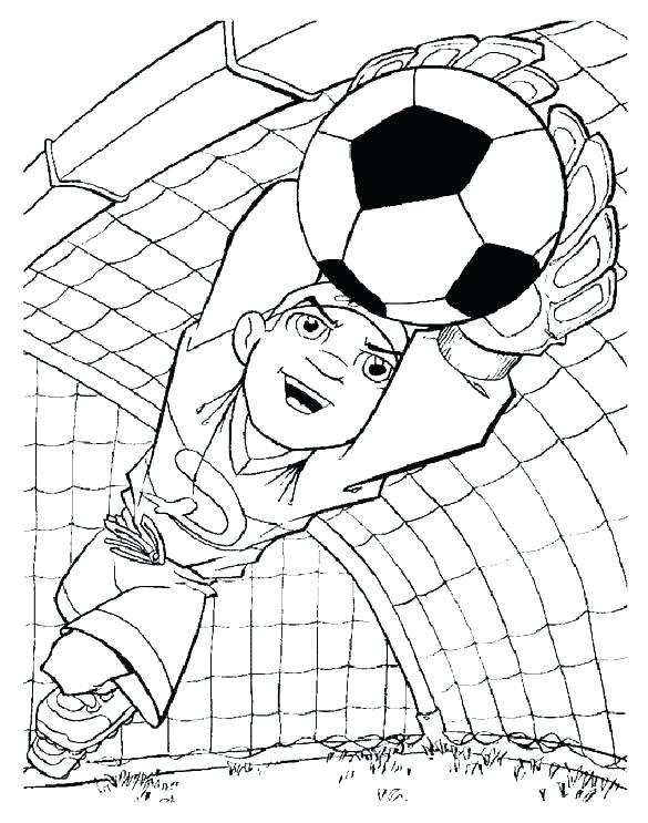 585x743 Printable Football Coloring Pages Free Football Coloring Pages