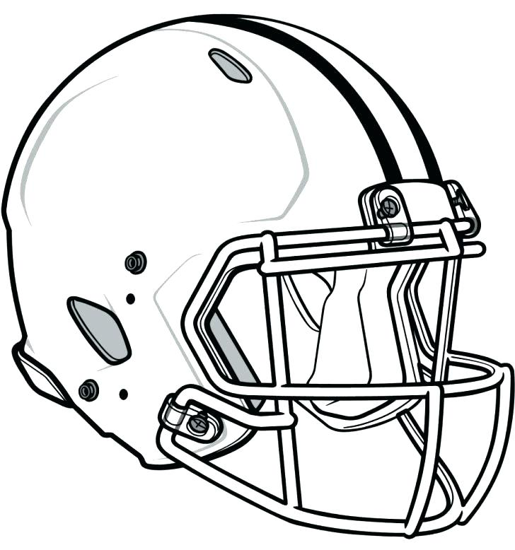 728x778 All Helmet Coloring Pages Blank Page Fresh Download Of Football