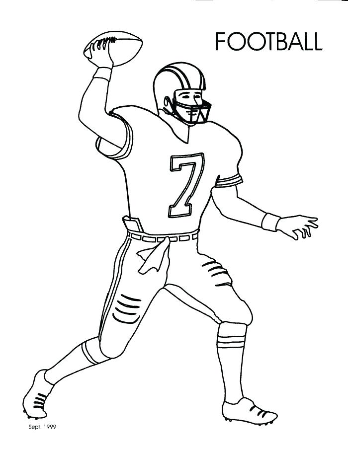 700x906 Free Coloring Pages Football