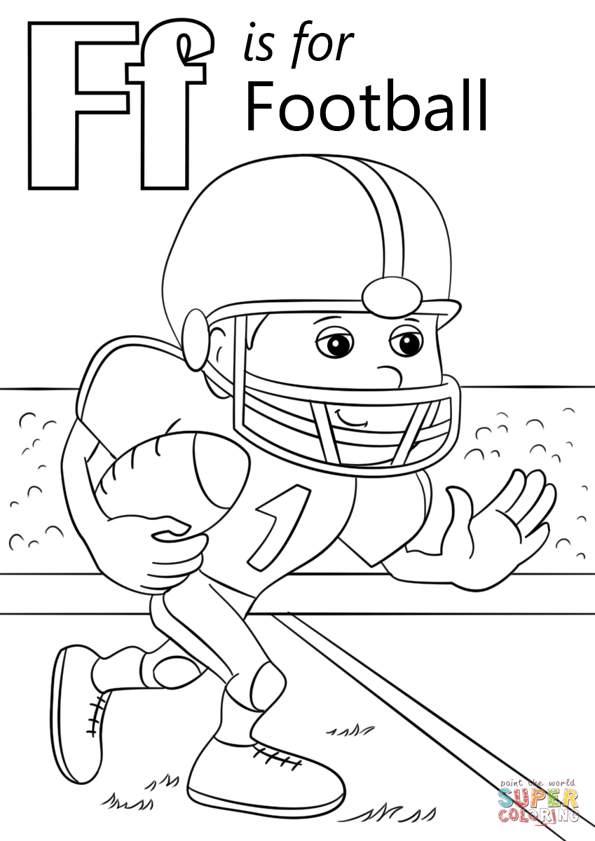 849x1200 Amazing Design Football Coloring Pages Free Printable Football