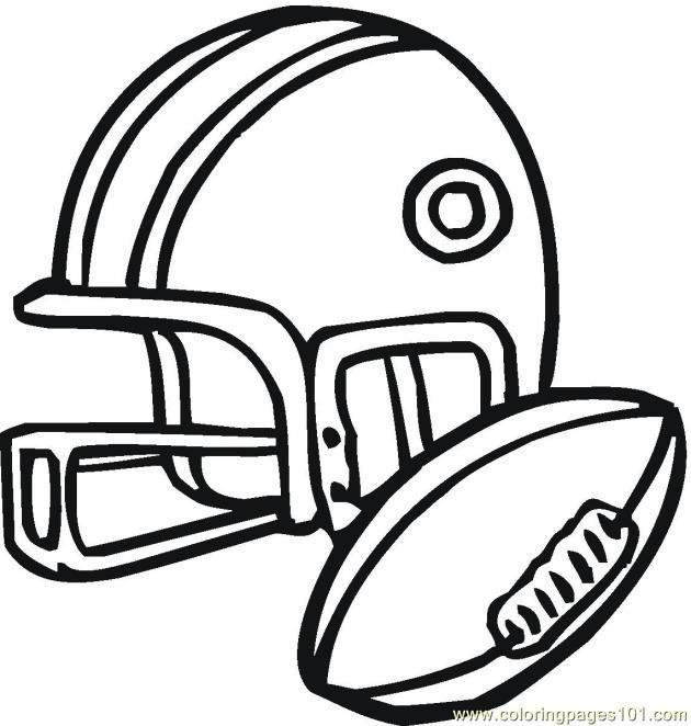 630x662 Printable Football Free Printable Coloring Page American