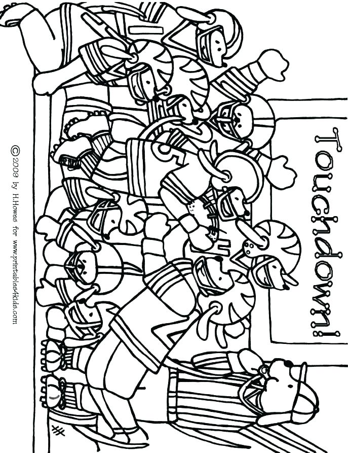 687x893 College Football Coloring Pages College Football Coloring Page New