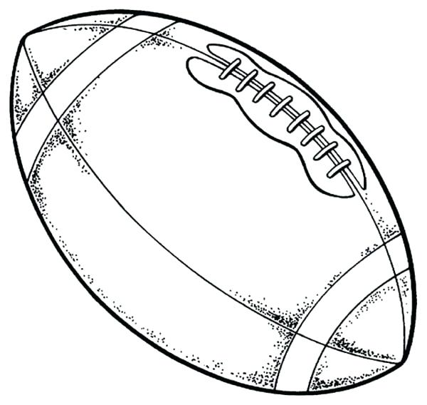 600x568 Coloring Page Football Football Coloring Pages Best Printable