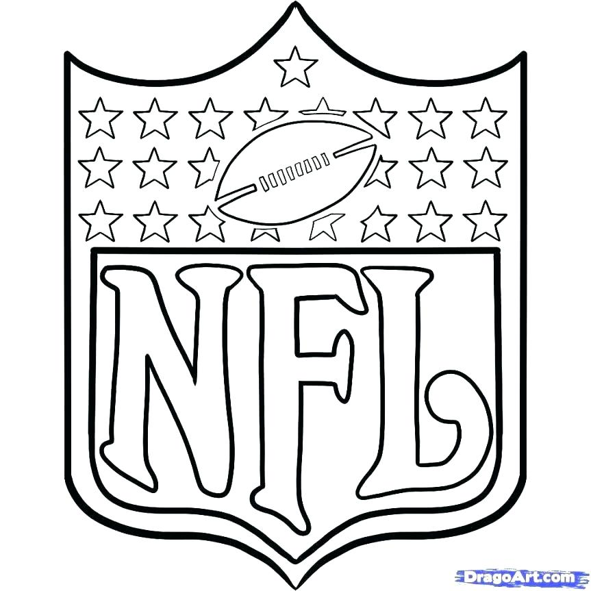863x863 Football Color Page Football Coloring Pages Free Printable