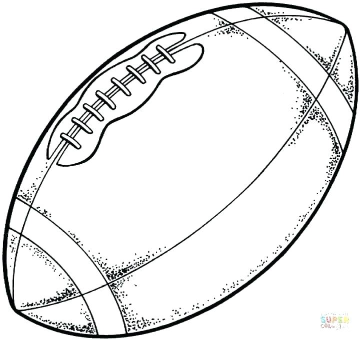 720x681 Football Coloring Pages Printable Coloring Pages Inspiration