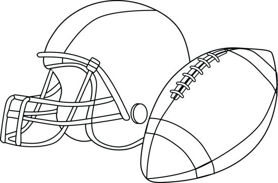 550x363 Free Football Coloring Pages Free Football Coloring Pages Football