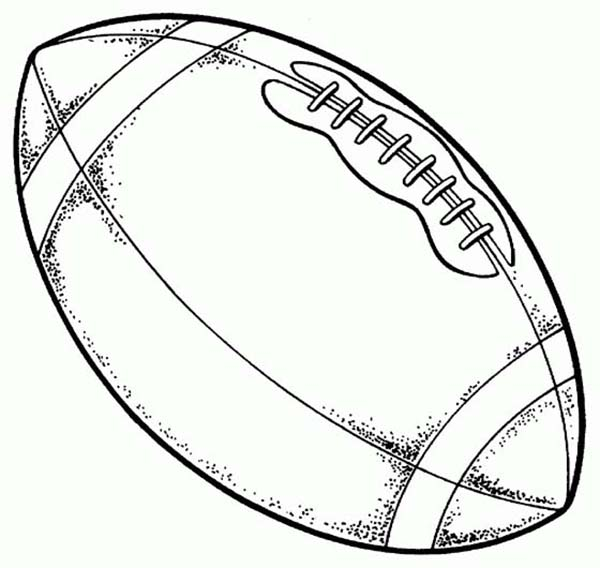 600x568 Best Printable Football Coloring Pages Free Printable