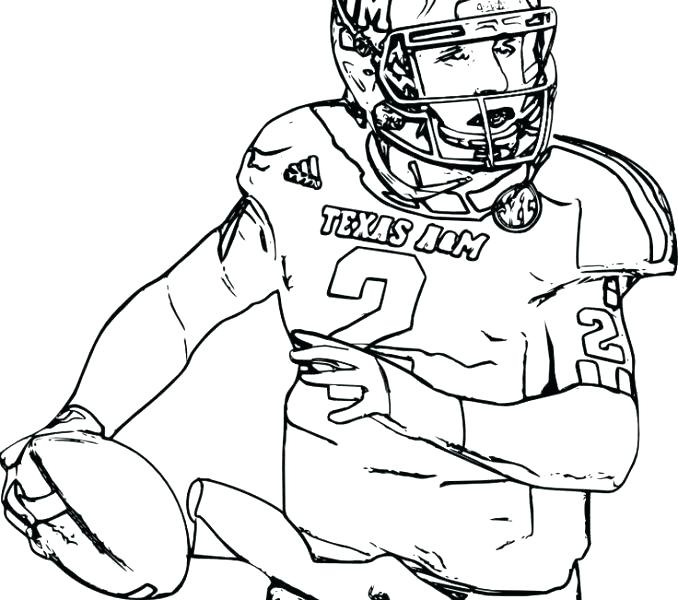 678x600 Coloring Pages Football Broncos Coloring Pages Football Helmet