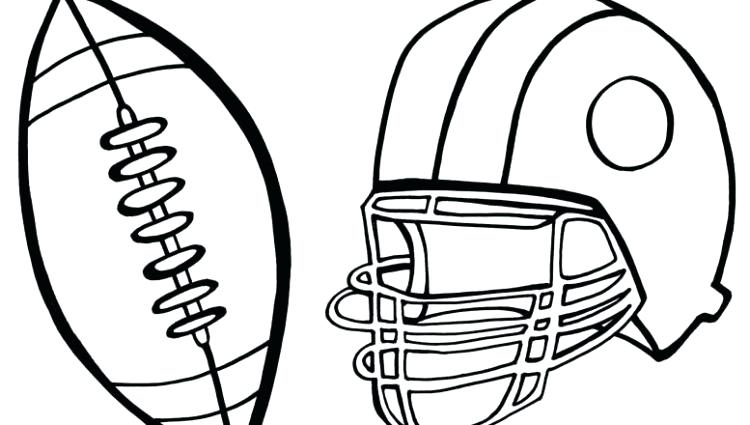 750x425 Football Coloring Pages Printable Beautiful Printable Football