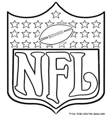 365x377 Football Coloring Pages Printable