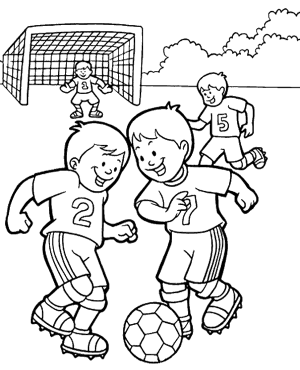 600x740 Football Colouring Pages Football Colouring Pages To Print