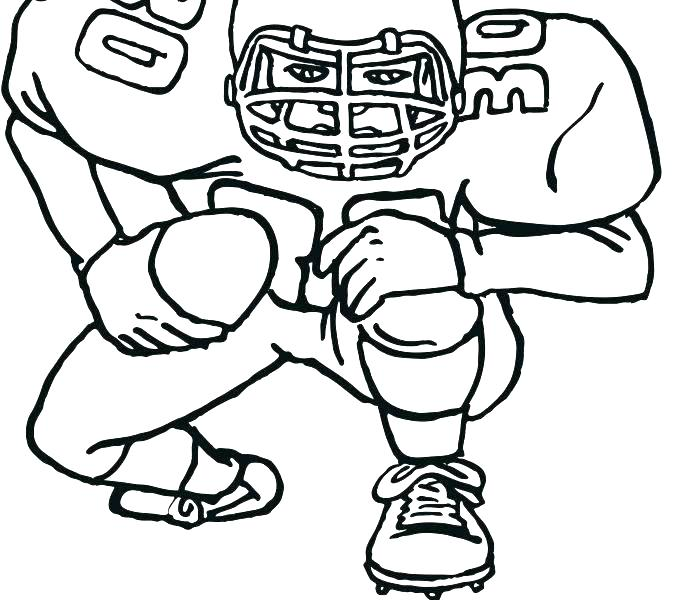 678x600 Football Field Coloring Pages Football Printable Coloring Pages