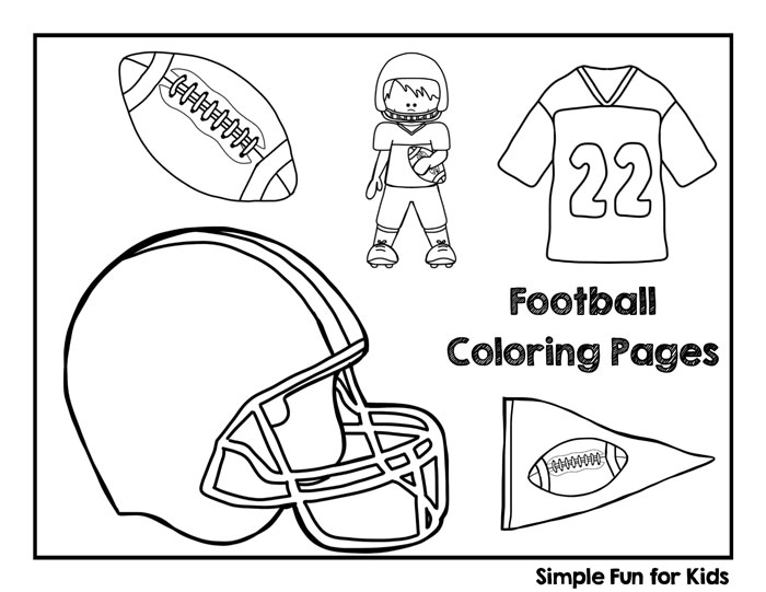 700x541 Football Coloring Pages