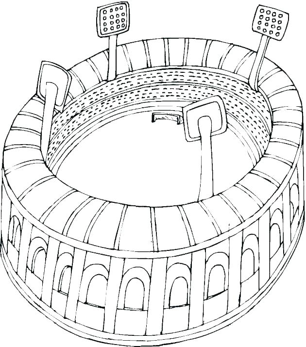630x715 Football Coloring Page Football Field Coloring Pages Football