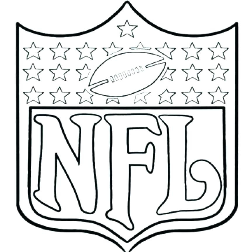 863x863 Football Field Coloring Page Printable Coloring Page