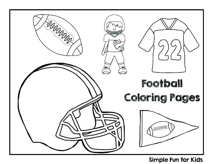 700x541 Football Field Coloring Page Football Coloring Pages For Kids