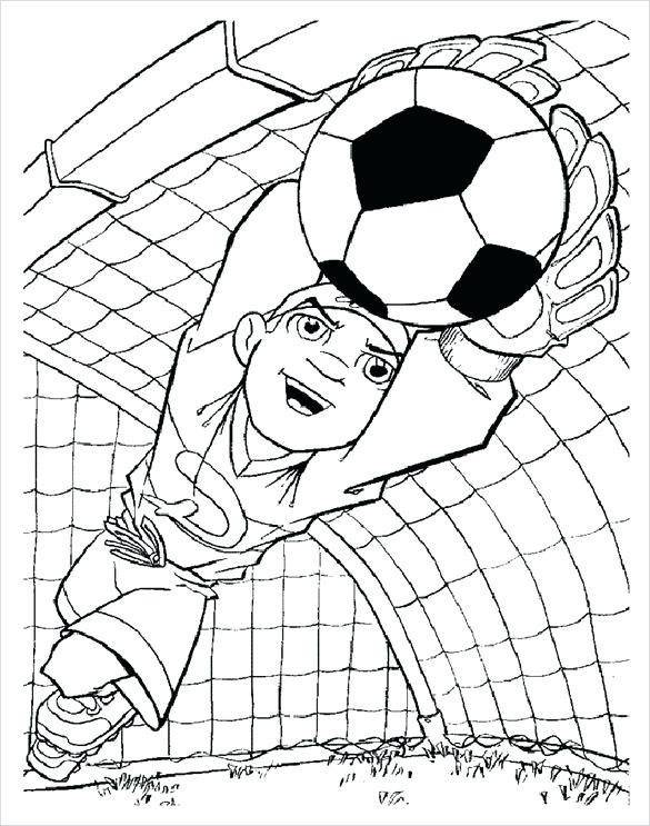 585x743 Football Field Coloring Pages Football Coloring Pages Free Word