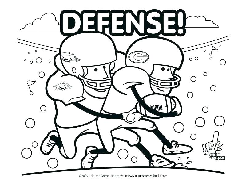 800x600 Football Field Coloring Pages Football Field Coloring Page