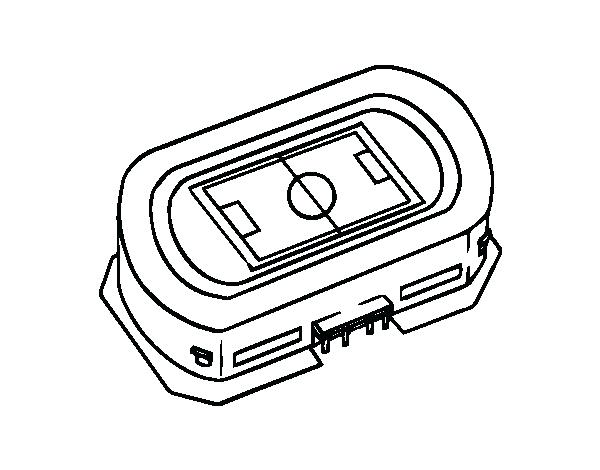 600x470 Football Stadium Coloring Page Football Stadium Coloring Page