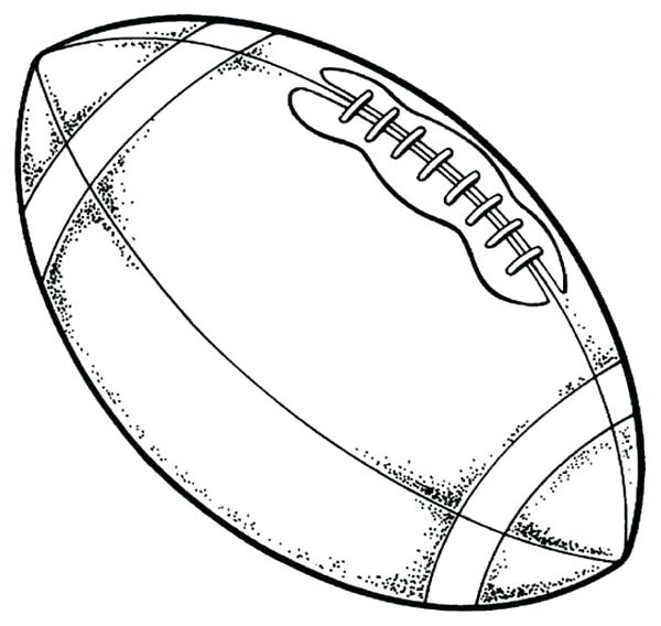 600x568 Coloring Page Football Coloring Pages Collection
