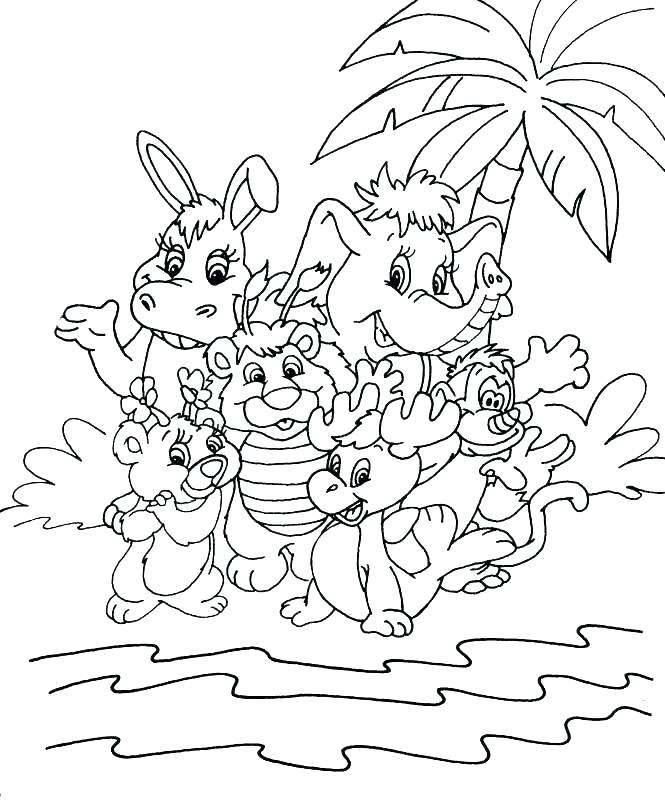665x800 Football Field Coloring Pages