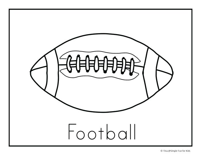 700x541 Coloring Page Football Get Ready For The Football Season