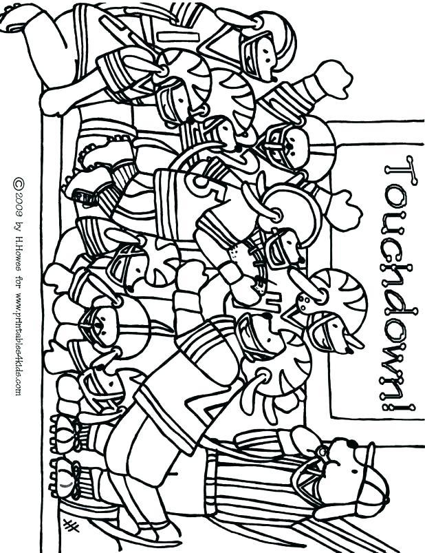 618x803 Football Coloring Page Football Coloring Pages Football Game