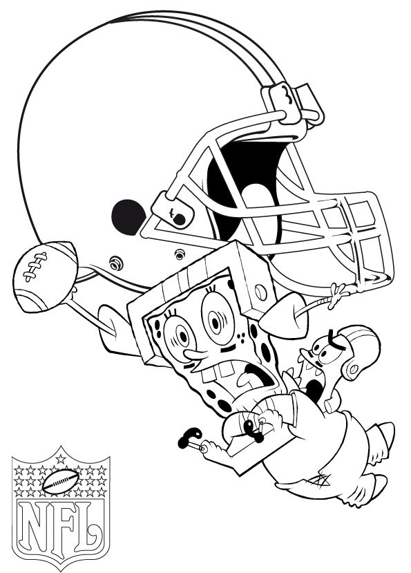 Football Goal Post Coloring Pages