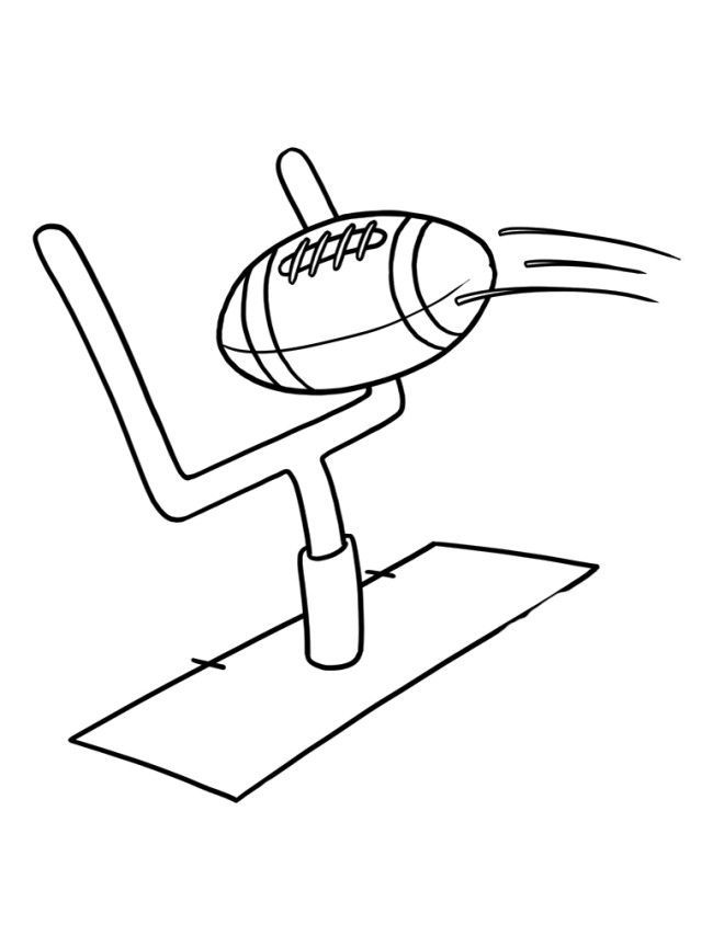 650x844 Football Coloring Page Coloring Pages For Kids