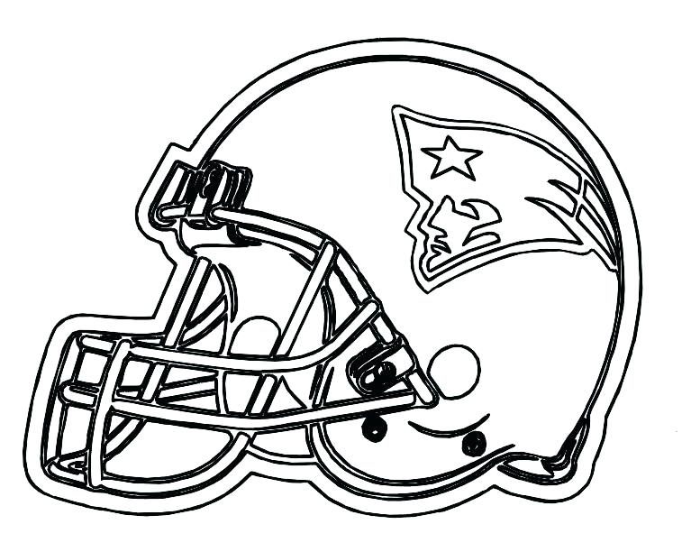 767x612 Football Helmet Coloring Page Marvellous Football Helmets To Color