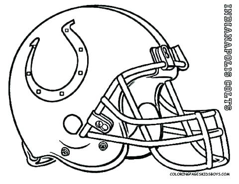 480x370 Football Helmet Coloring Page State Football Coloring Pages