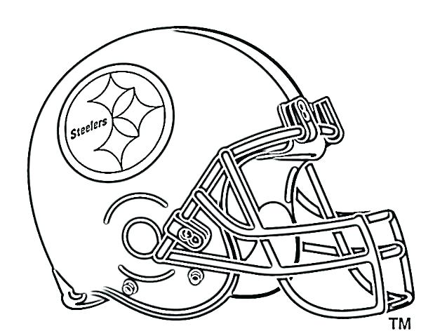 600x472 Football Helmet Coloring Pages Football Helmet Coloring Page