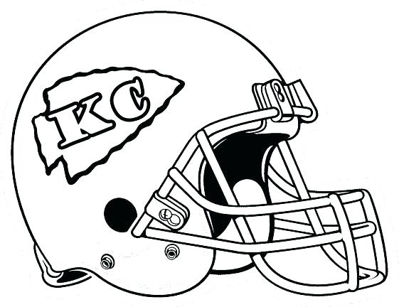 561x432 Nfl Football Coloring Pages Football Coloring Pages Online Kc