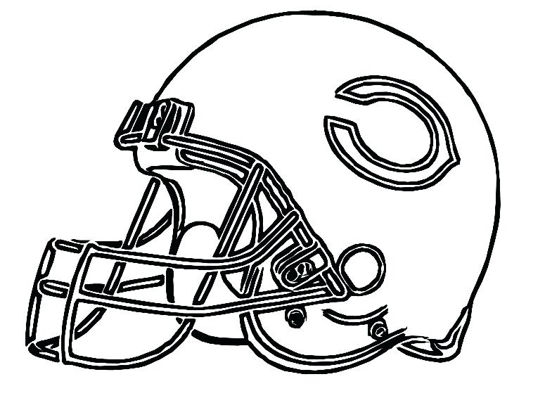 775x593 Pictures Football Helmet Bears Coloring Pages Football Pictures
