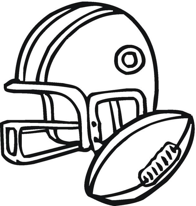 630x662 Splendid Design Inspiration Football Pictures To Color Helmet