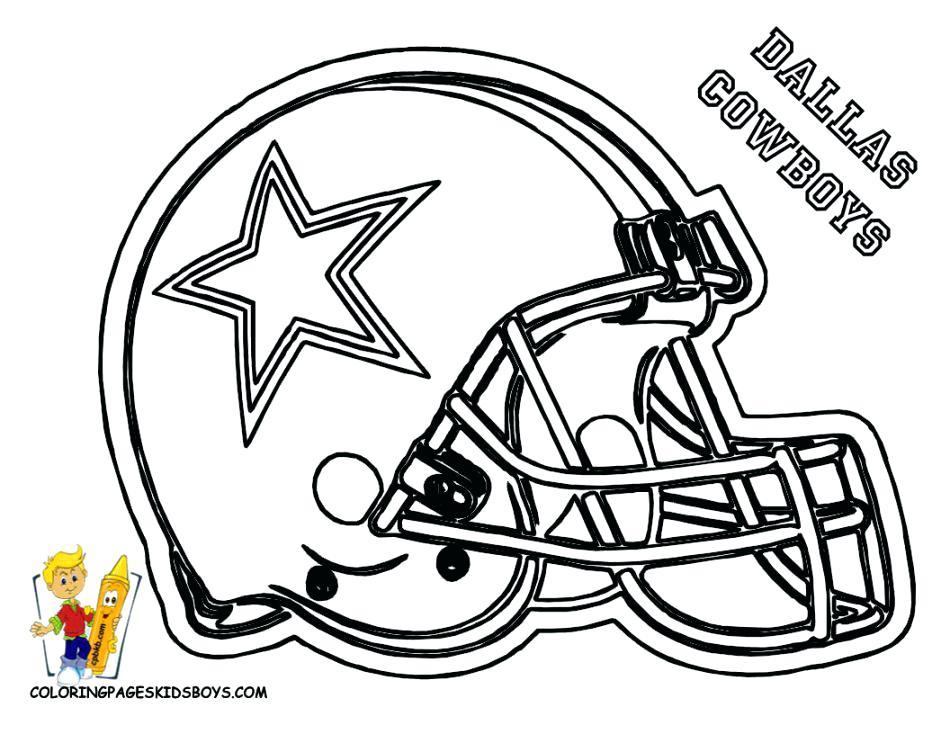 950x734 Dallas Cowboys Coloring Page Image For Football Helmet Coloring