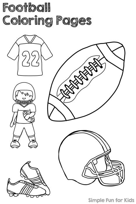 467x700 Football Coloring Pages