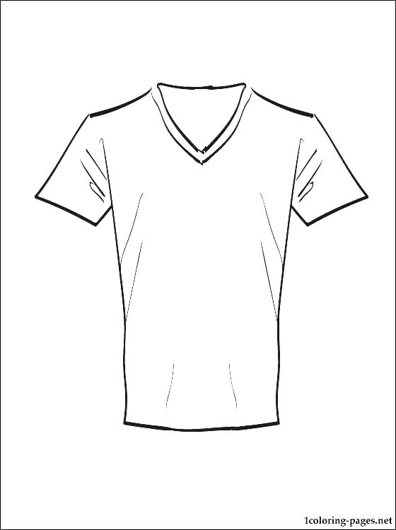 560x750 Football Jersey Coloring Pages Blank Football Jersey Coloring