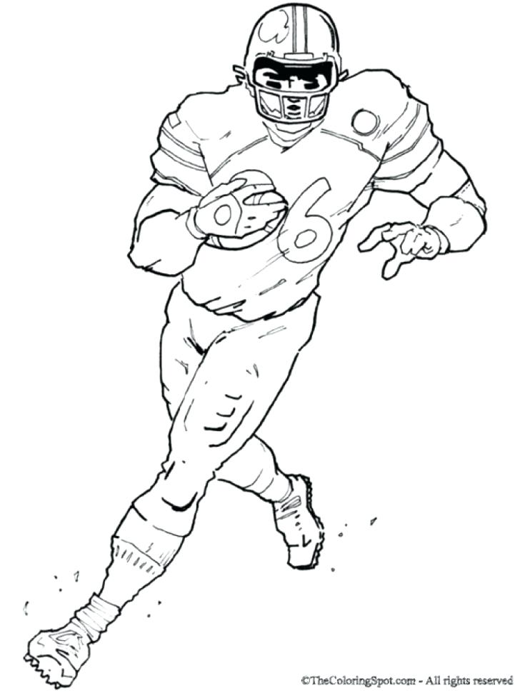 728x971 Football Jersey Coloring Pages Unique Football Player Coloring