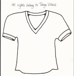 236x243 Football Jersey Pattern Use The Printable Outline For Crafts