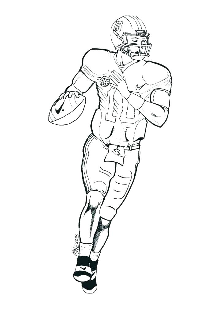 727x1024 Free Printable Football Coloring Pages Coloring Pages Numbers